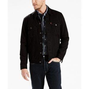 Levi's Jackets & Coats - Levis Trucker Black Denim Jacket